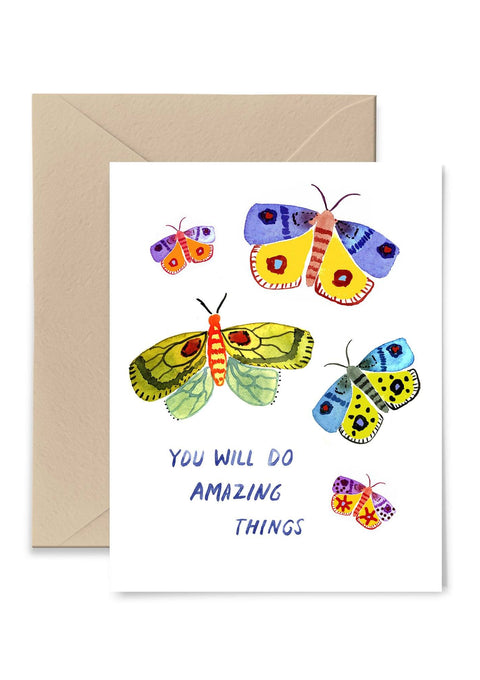 Amazing Things Greeting Card Greeting Card Little Truths Studio
