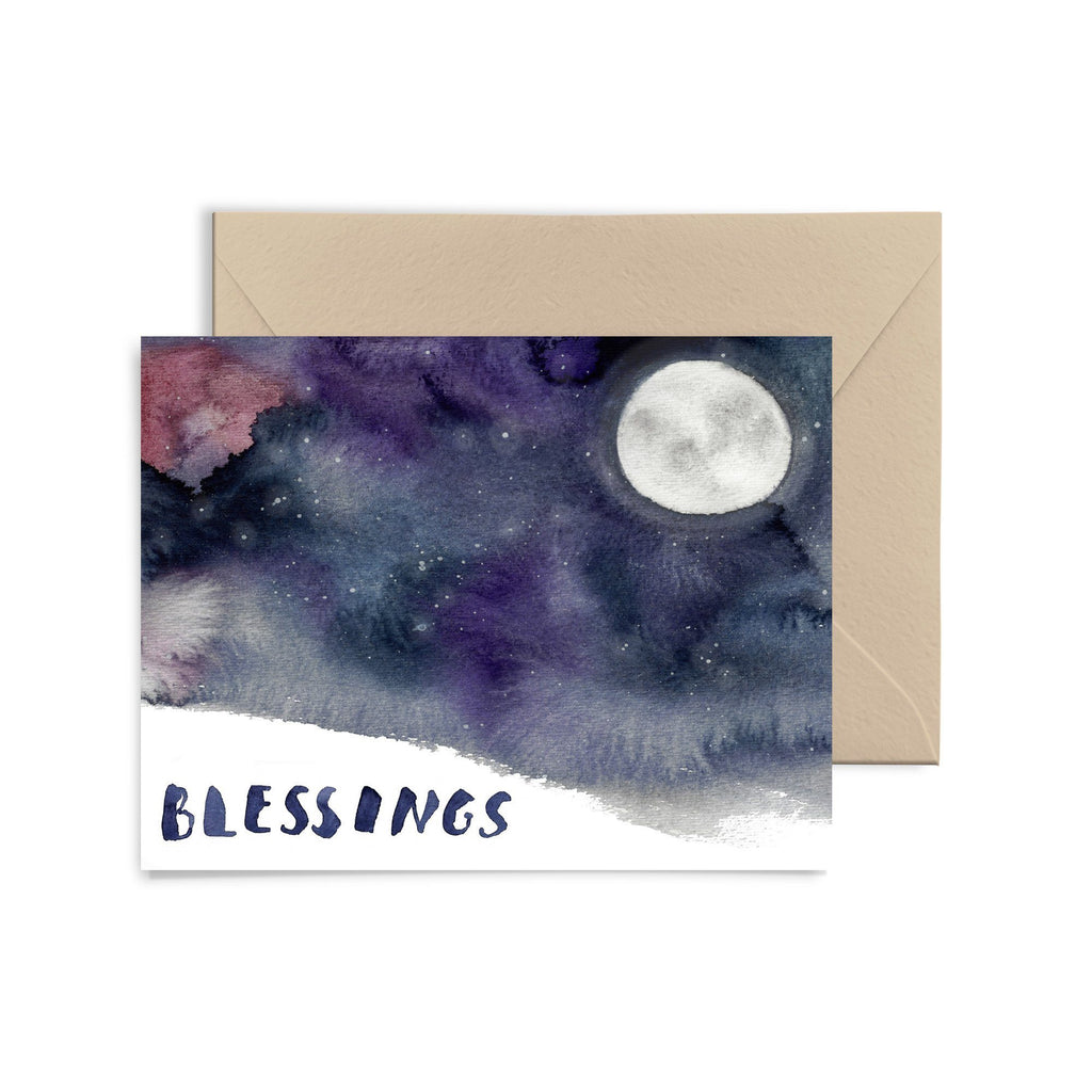 Blessings Greeting Card Greeting Card Little Truths Studio
