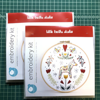 Dala Embroidery Kit embroidery kit Little Truths Studio