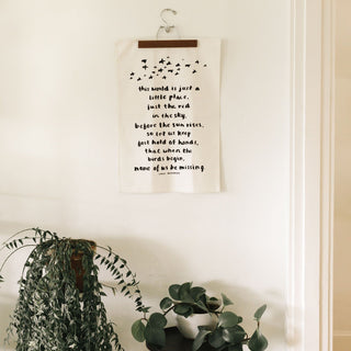 Emily Dickinson Tea Towel Tea Towel Little Truths Studio