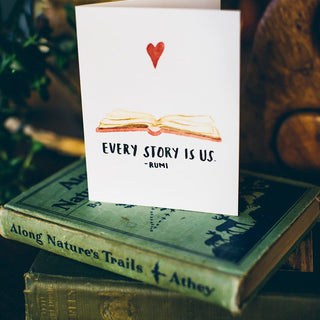 Every Story Is Us Greeting Card Greeting Card Little Truths Studio