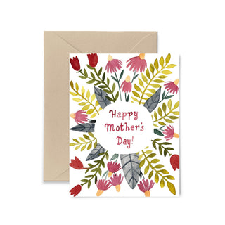 Floral Mother's Day Card Greeting Card Little Truths Studio