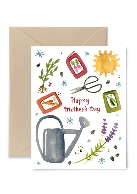 Gardening Mother's Day Card Greeting Card Little Truths Studio