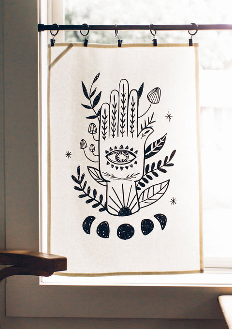 Hamsa Tea Towel Tea Towel Little Truths Studio
