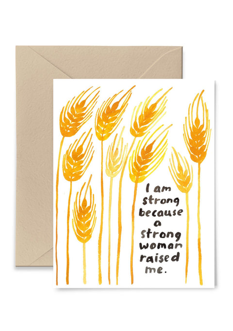 I Am Strong Greeting Card Greeting Card Little Truths Studio