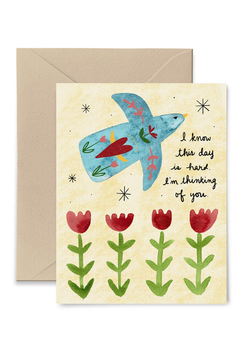 I Know This Day Is Hard Greeting Card Greeting Card Little Truths Studio