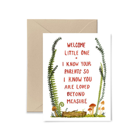I Know Your Parents Greeting Card Greeting Card Little Truths Studio