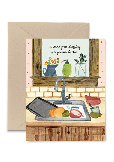 I Know You're Struggling Greeting Card Greeting Card Little Truths Studio
