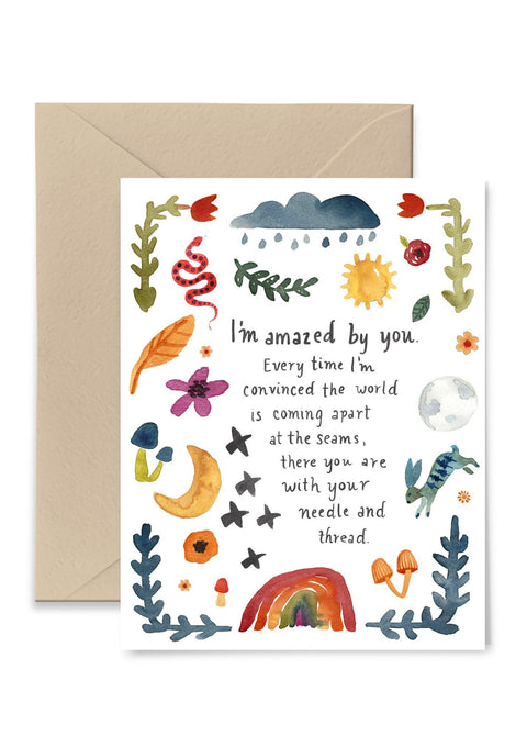 I'm Amazed By You Greeting Card Greeting Card Little Truths Studio