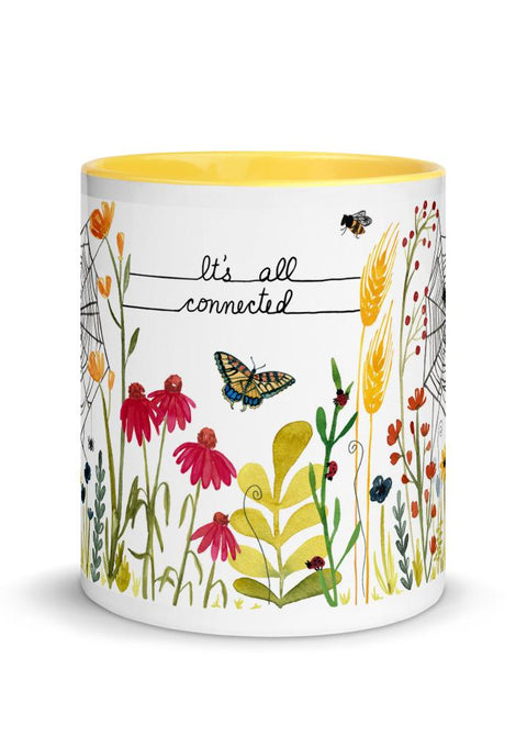 It's All Connected Mug mug Little Truths Studio