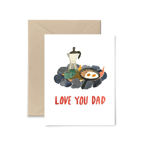 Love You Dad Greeting Card Greeting Card Little Truths Studio