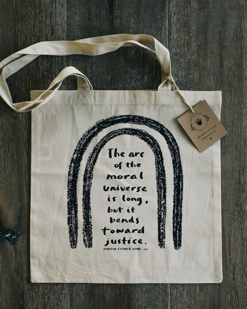 Martin Luther King Jr Tote Bag Tote Bag Little Truths Studio