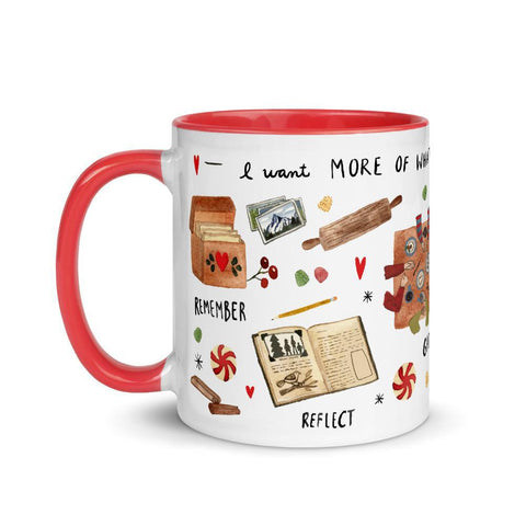 More of What Matters Holiday Mug Little Truths Studio