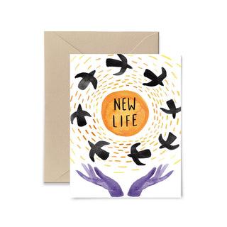 New Life Greeting Card Greeting Card Little Truths Studio