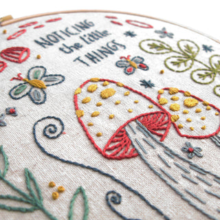 Noticing the Little Things Embroidery Kit embroidery kit Little Truths Studio