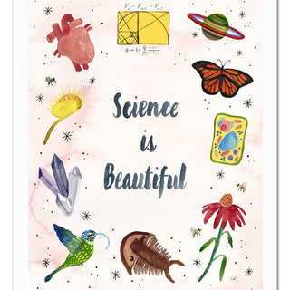 Science is Beautiful Art Print
