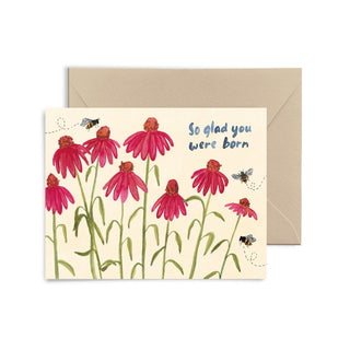 So Glad You Were Born Greeting Card Greeting Card Little Truths Studio