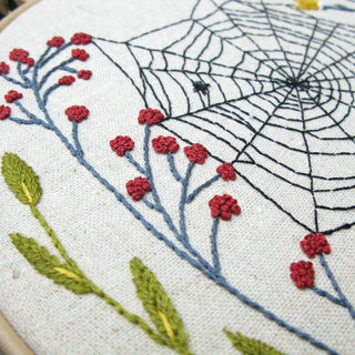 Spider Web Embroidery Kit Little Truths Studio