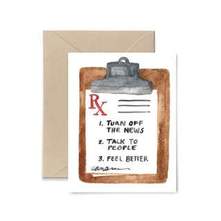 Talk To People Greeting Card Greeting Card Little Truths Studio