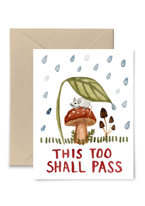 This Too Shall Pass Card Greeting Card Little Truths Studio