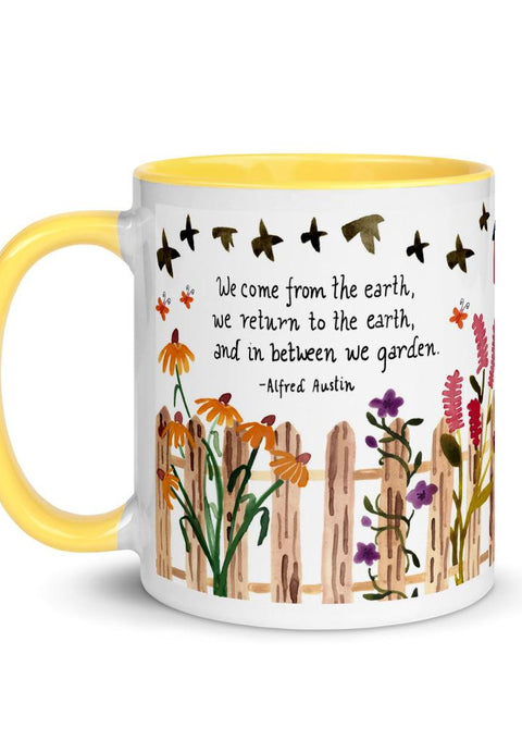We Come From The Earth Mug mug Little Truths Studio