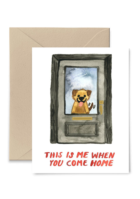 When You Come Home Card Greeting Card Greeting Card Little Truths Studio