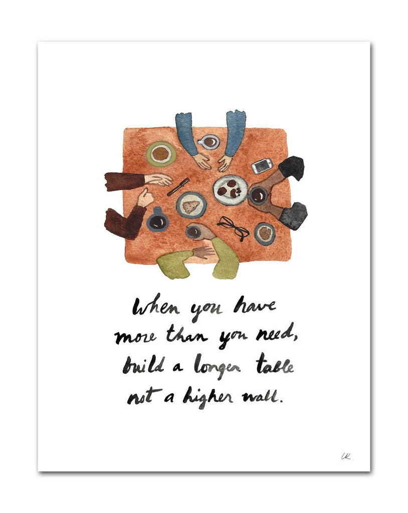 When You Have More Than You Need Art Print Art Prints Little Truths Studio
