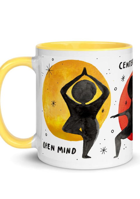 Yoga Mug mug Little Truths Studio