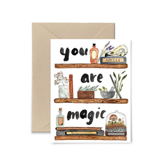 You Are Magic Greeting Card Greeting Card Little Truths Studio