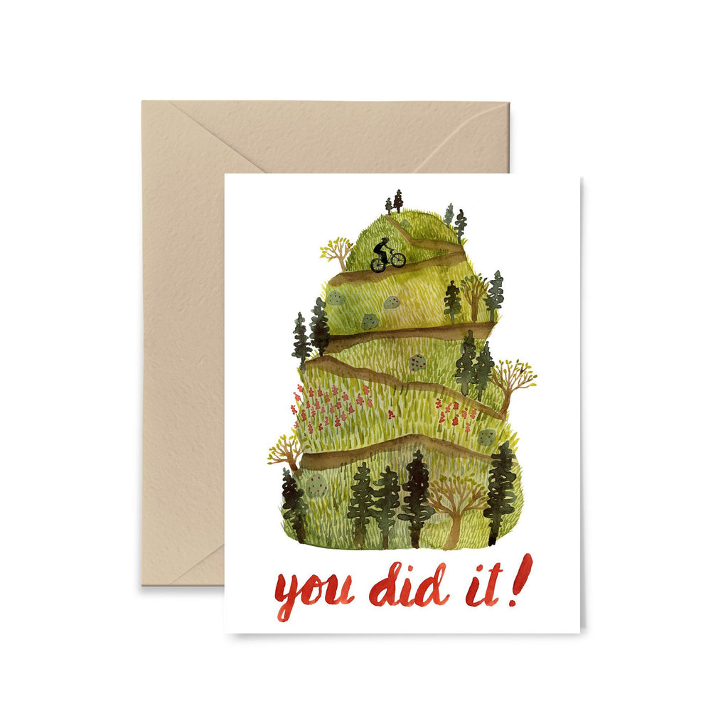 You Did It Greeting Card Greeting Card Little Truths Studio