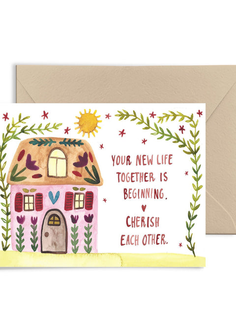 Your New Life Together Greeting Card Greeting Card Little Truths Studio