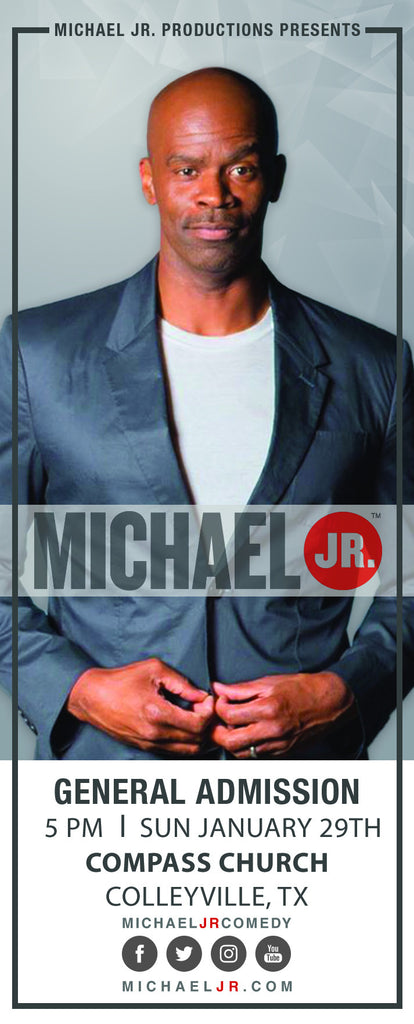 Michael Jr. Live @ Colleyville, TX--Bringin' the Funny Comedy Show January 29