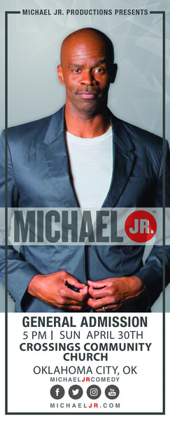 Michael Jr. Live @ Oklahoma City, OK--Bringin' the Funny Comedy Show April 30