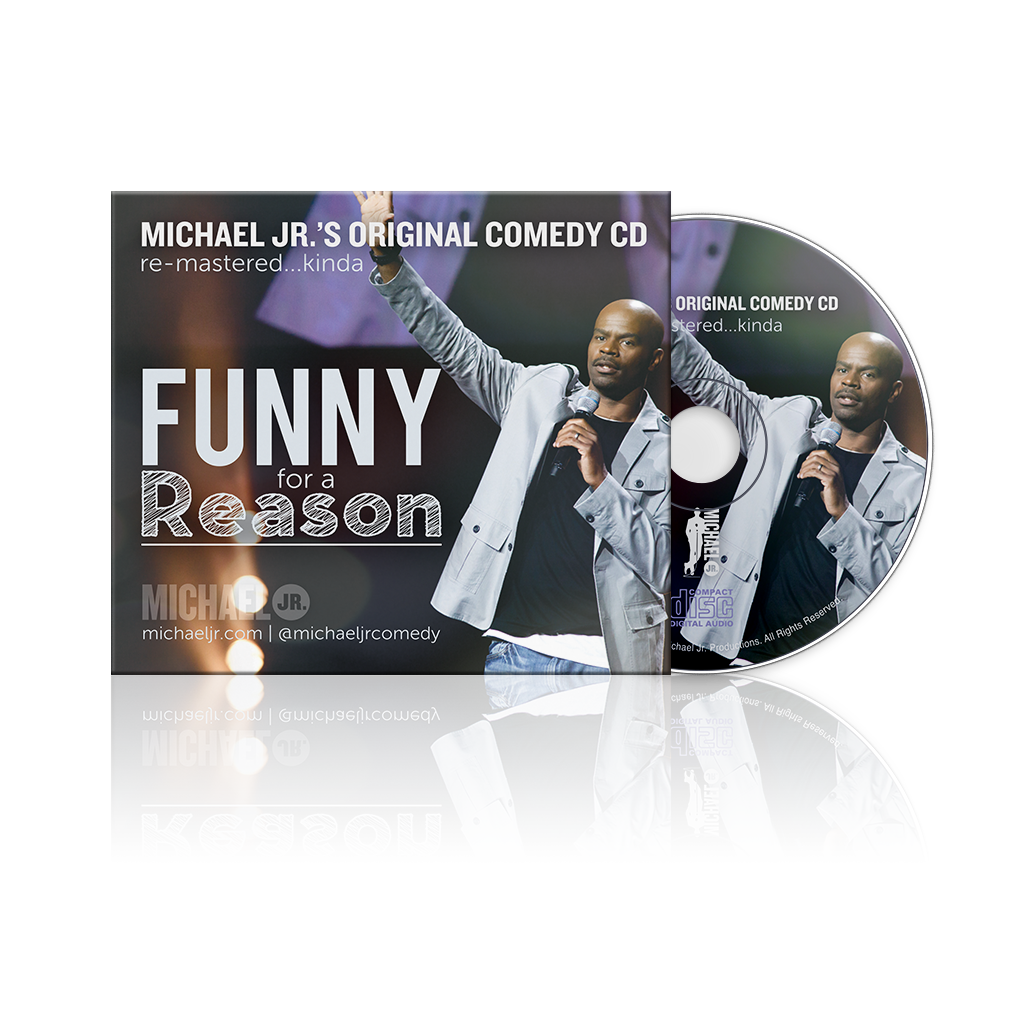 "'Funny For A Reason"" — CD"
