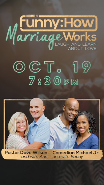 Funny: How Marriage Works | Oct 19 - 7:30 pm