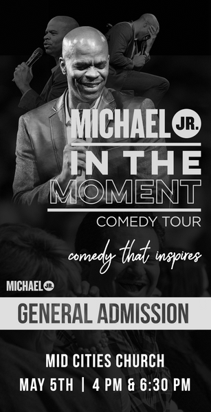 Michael Jr. Live @ Midland, TX (Evening) -- Michael Jr. In the Moment Comedy Tour May 5