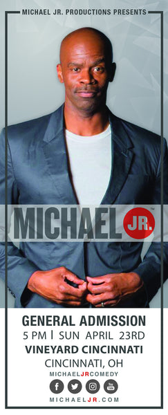 Michael Jr. Live @ Cincinnati, OH--Bringin' the Funny Comedy Show April 23