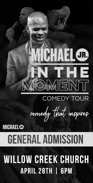 Michael Jr. Live @ South Barrington, IL -- Michael Jr. In the Moment Comedy Tour April 28