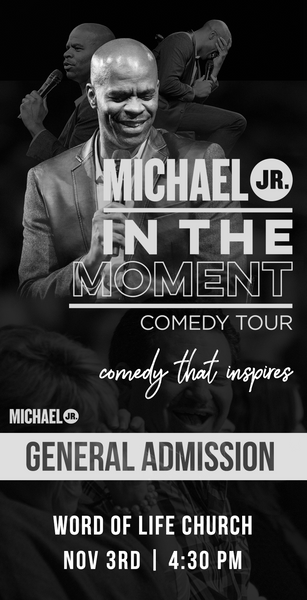 Michael Jr. Live @ Flowood, MS -- Michael Jr. In the Moment Comedy Tour Nov 3