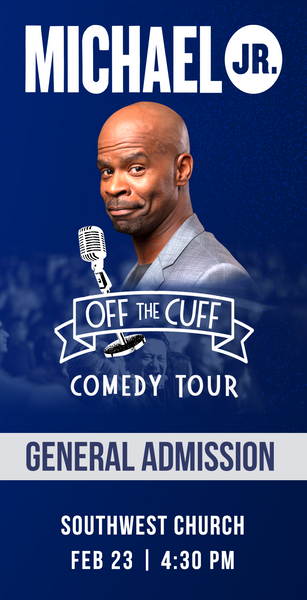 Michael Jr. Live @ Indian Wells, CA -- Michael Jr. Off the Cuff Comedy Tour Feb 23