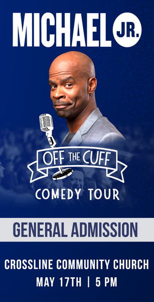 Michael Jr. Live @ Laguna Hills, CA -- Michael Jr. Off the Cuff Comedy Tour May 17
