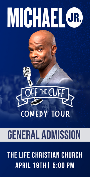 Michael Jr. Live @ West Orange, NJ -- Michael Jr. Off the Cuff Comedy Tour April 19