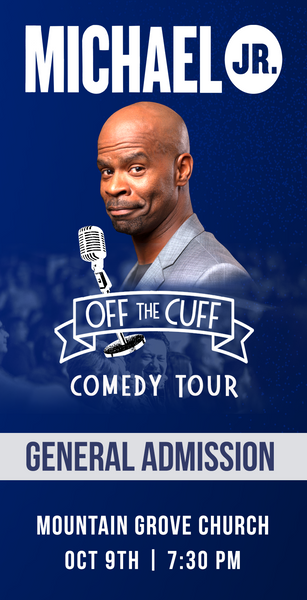 Michael Jr. Live @ Granite Falls, NC -- Michael Jr. Off the Cuff Comedy Tour Oct 9th