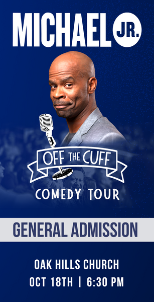 Michael Jr. Live @ San Antonio, TX -- Michael Jr. Off the Cuff Comedy Tour Oct 18th
