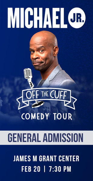 Michael Jr. Live @ Redding, CA -- Michael Jr. Off the Cuff Comedy Tour Feb 20