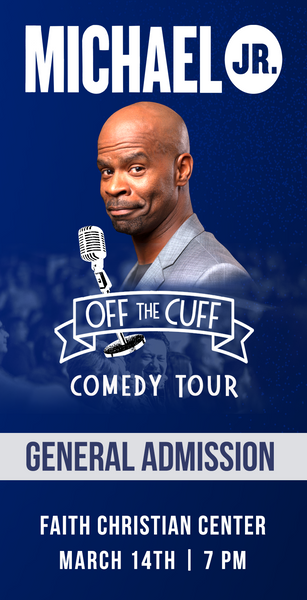 Michael Jr. Live @ Seekonk, MA -- Michael Jr. Off the Cuff Comedy Tour March 14