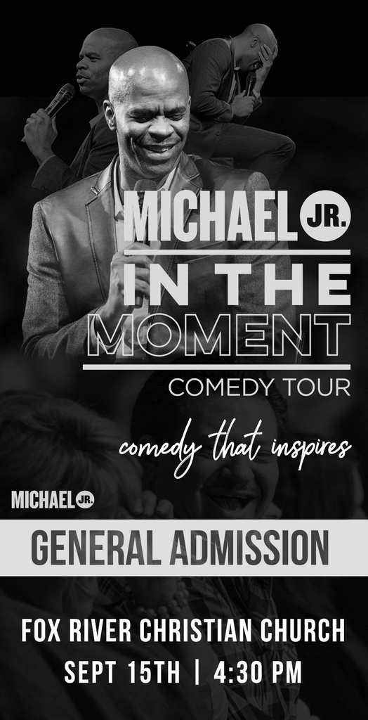 Michael Jr. Live @ Waukesha, WI -- Michael Jr. In the Moment Comedy Tour Sept 15
