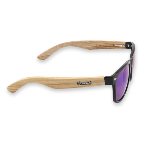 Diegos Zebrawood Sunglasses Right