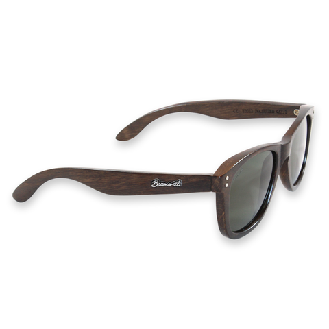 Pipes Brazilian Rosewood Sunglasses Right