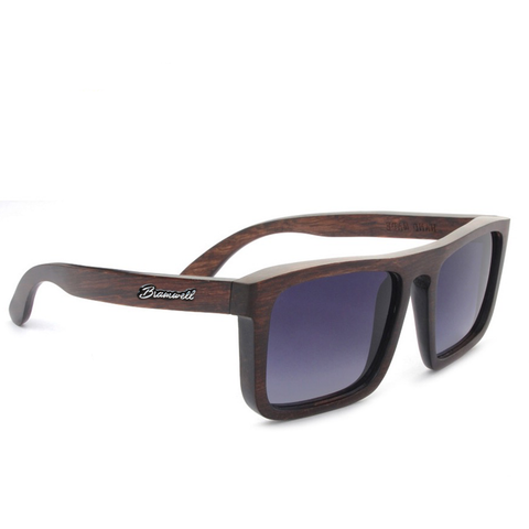 Pacific Beach Brazilian Rosewood Sunglasses Right Bramwell